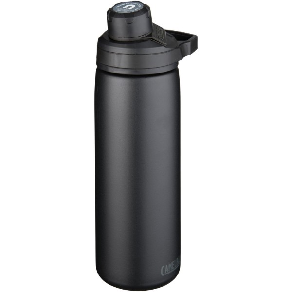 "Botella de 600 ml con aislamiento de cobre al vacío ""Chute Mag"" - Negro intenso"