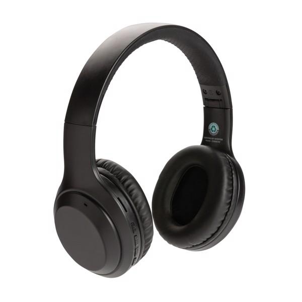 RSC standard újrahasznosított műanyag fejhallgató