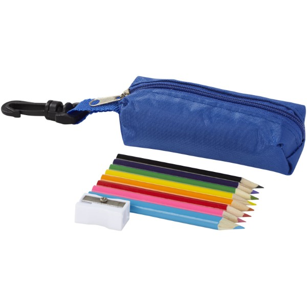 Jimbo 8-piece coloured pencil set - Blue