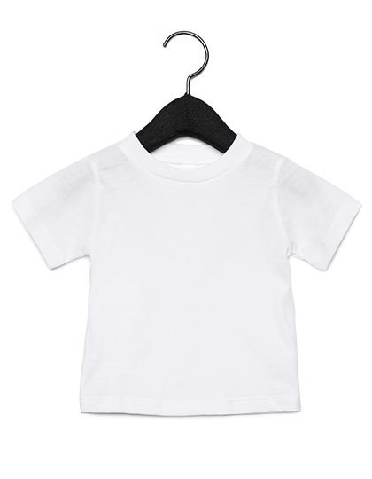 Baby Jersey Short Sleeve Tee - White / 12-18 months