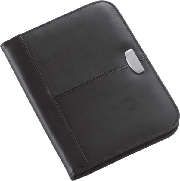 Bonded leather folder