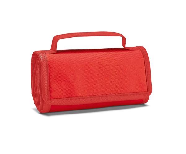 OSAKA. Πτυσσόμενη ισοθερμική τσάντα 3 L - Κόκκινο
