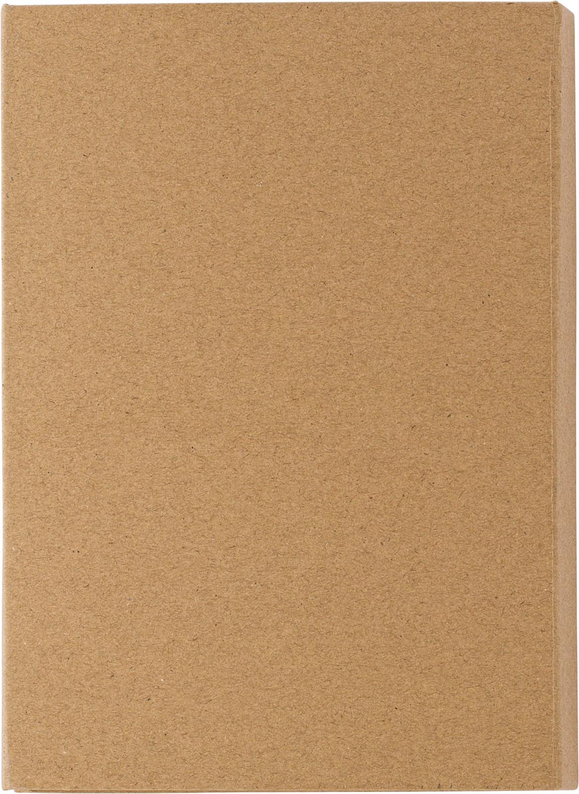 Carpeta de escritura, cartón