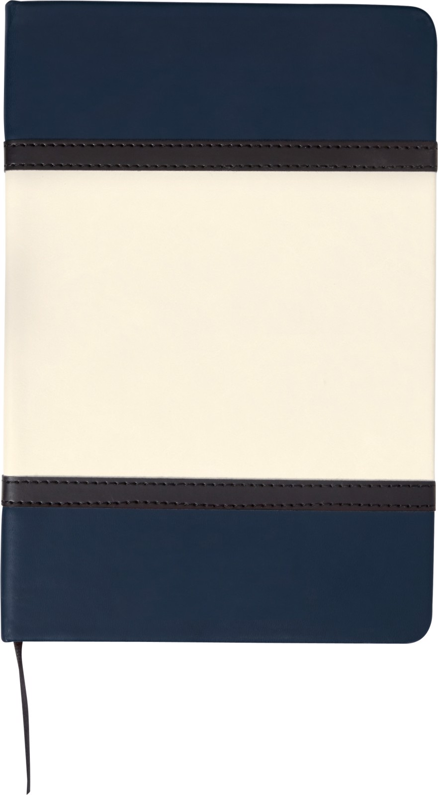 A5 Soft feel notebook with PU cover - Blue