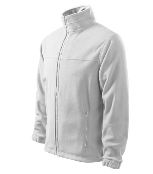 Fleece pánský Malfini Jacket - Bílá / 3XL