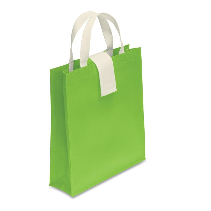 Nonwoven shopping bag Folby - Lime
