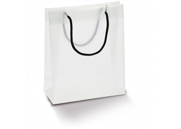 Carrier bag PP medium - Transparent White