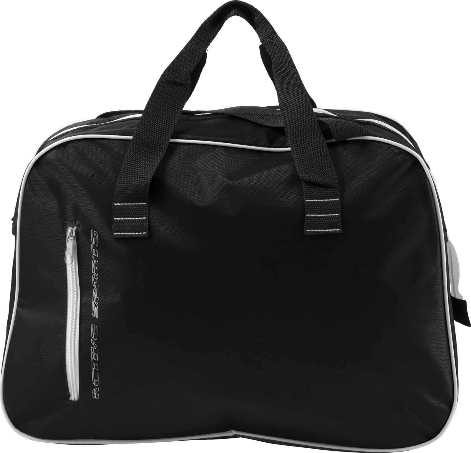 Polyester sports bag - Black