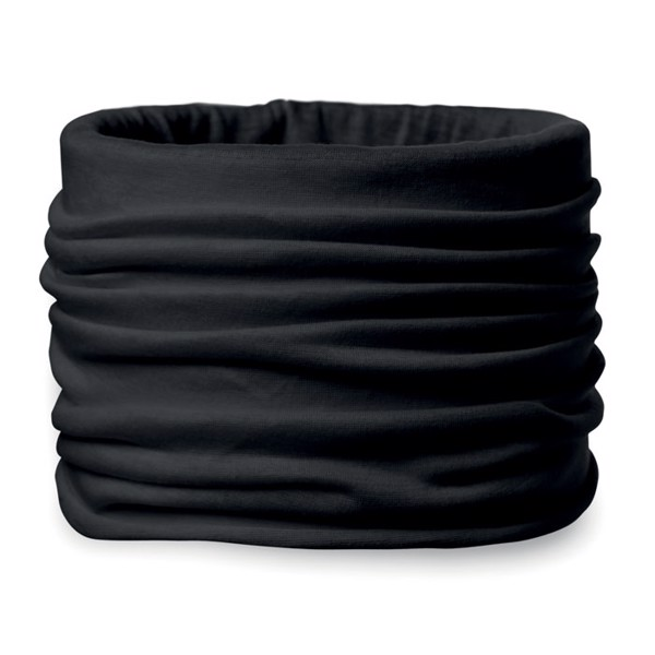 Bandana in microfiber Daria - Black