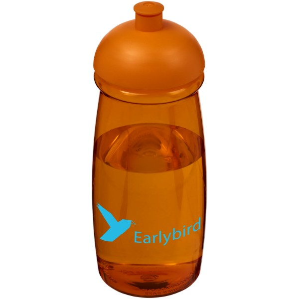 Sportovní láhev s kupolovitým víčkem H2O Pulse® 600 ml - 0ranžová