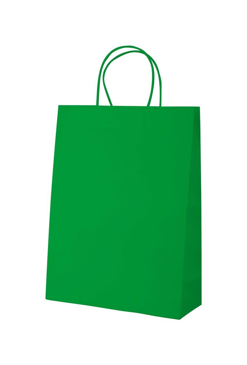 Papírová Taška Mall - Zelená