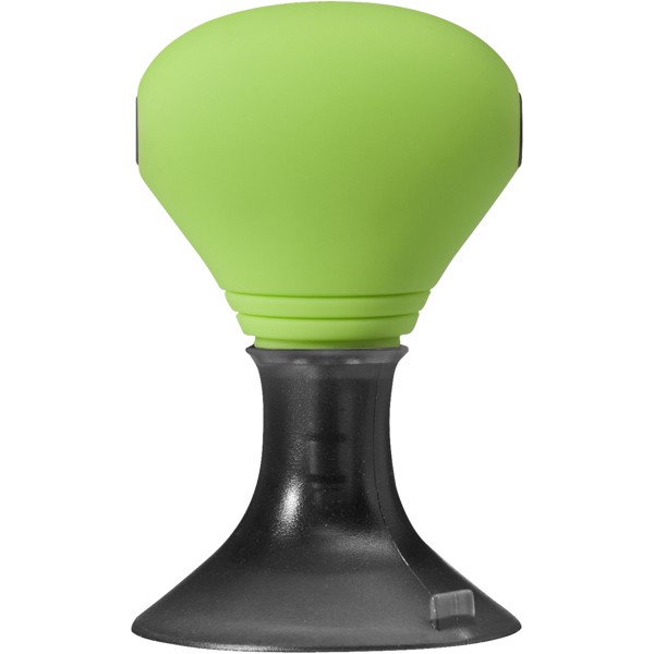 Spartacus 2-in-1 audio splitter and device stand - Lime