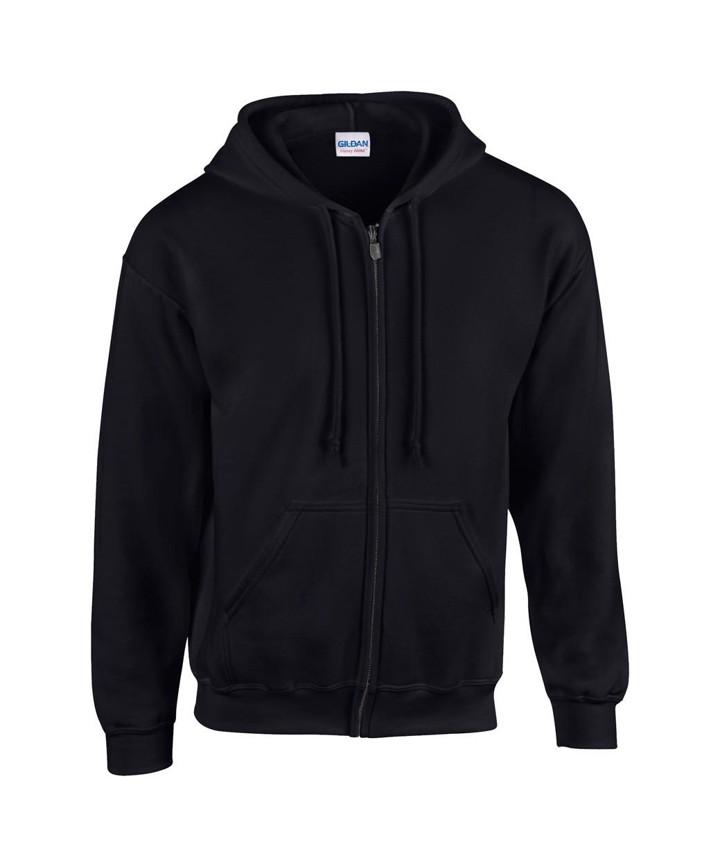 Sweatshirt HB Zip Hooded - Schwarz / M