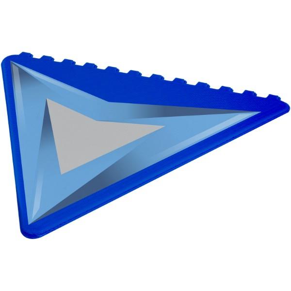 Trojúhelníková škrabka na led Frosty - Světle modrá