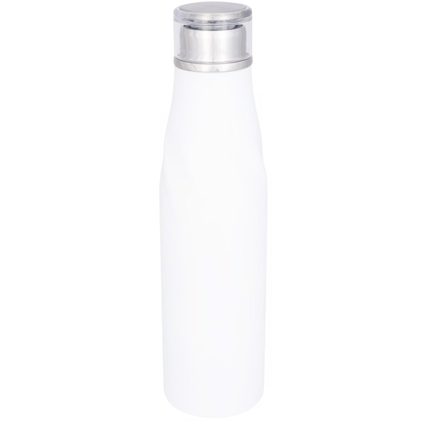 Hugo 650 ml seal-lid copper vacuum insulated bottle - White
