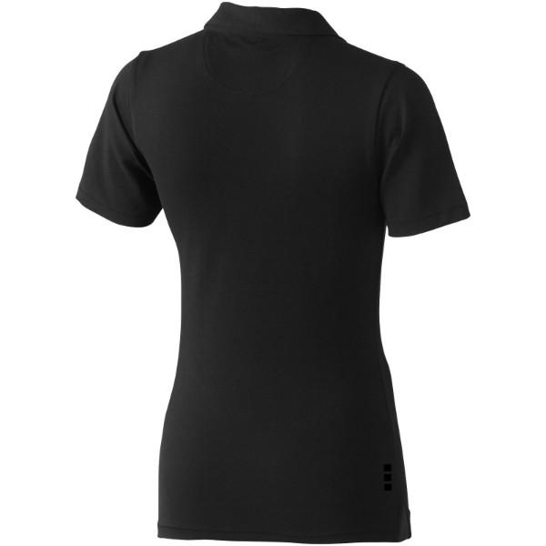 Markham short sleeve women's stretch polo - Anthracite / S