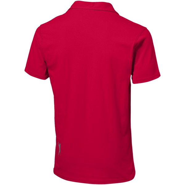 Let Jersey Poloshirt für Herren - Rot / M