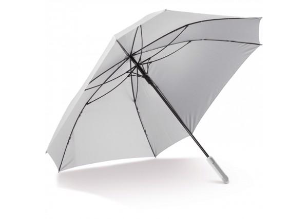 "Deluxe 27"" square umbrella with sleeve - White"