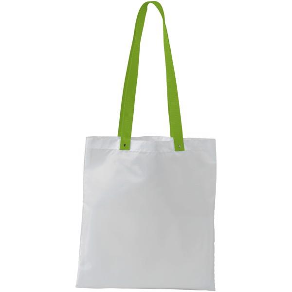 Polyesterová taška Uto - Bílá / Limetka