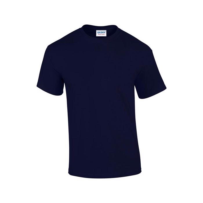 Tlusté tričko 185 g/m² Heavy T-Shirt 5000 - Navy / S