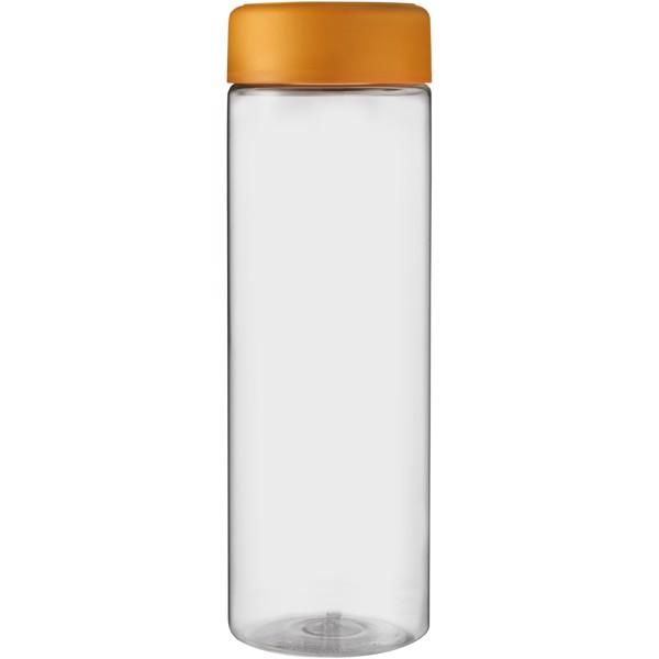 H2O Vibe 850 ml screw cap water bottle - Transparent / Orange