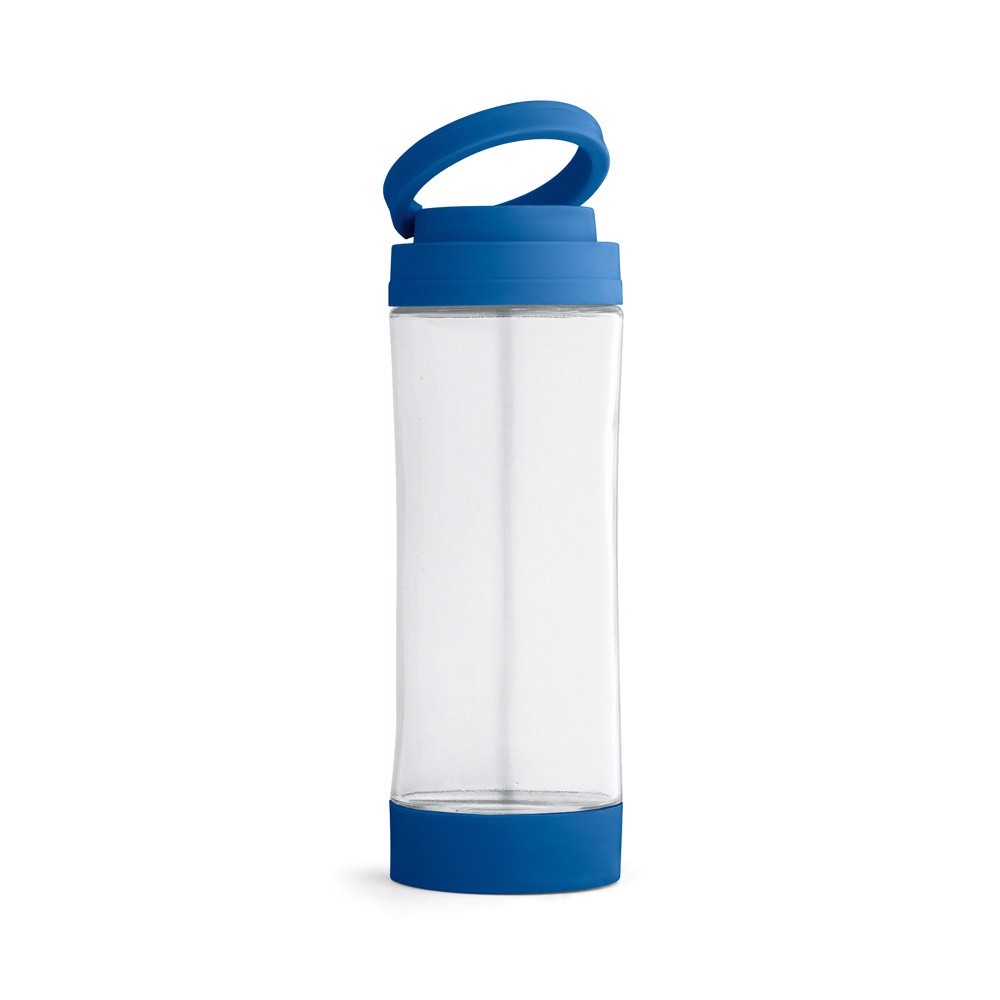 QUINTANA. Garrafa de desporto em vidro - Azul Royal