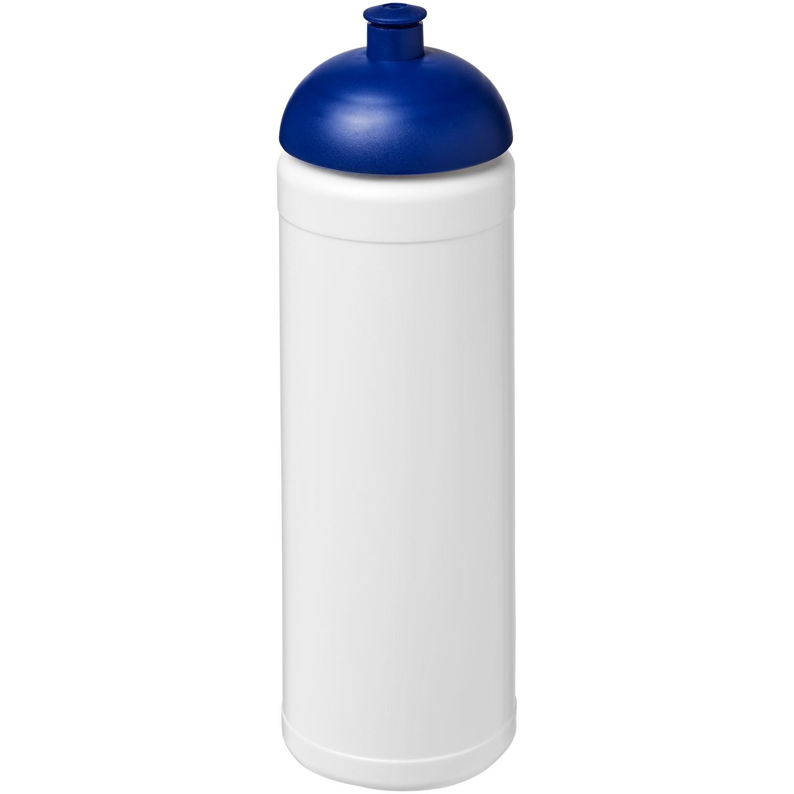 Sportovní láhev s kupolovitým víčkem Baseline® Plus 750 ml - Bílá / Modrá