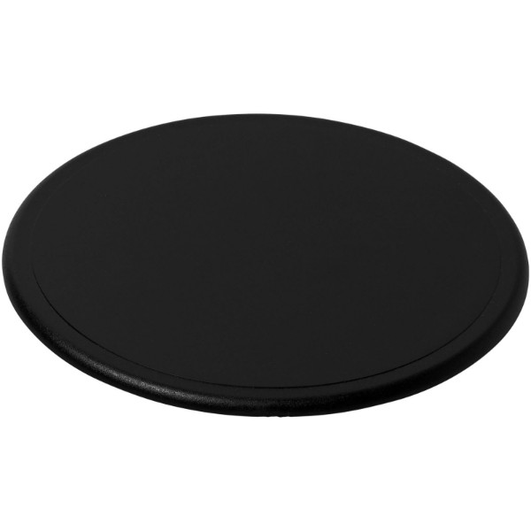 Terran round coaster with 100% recycled plastic