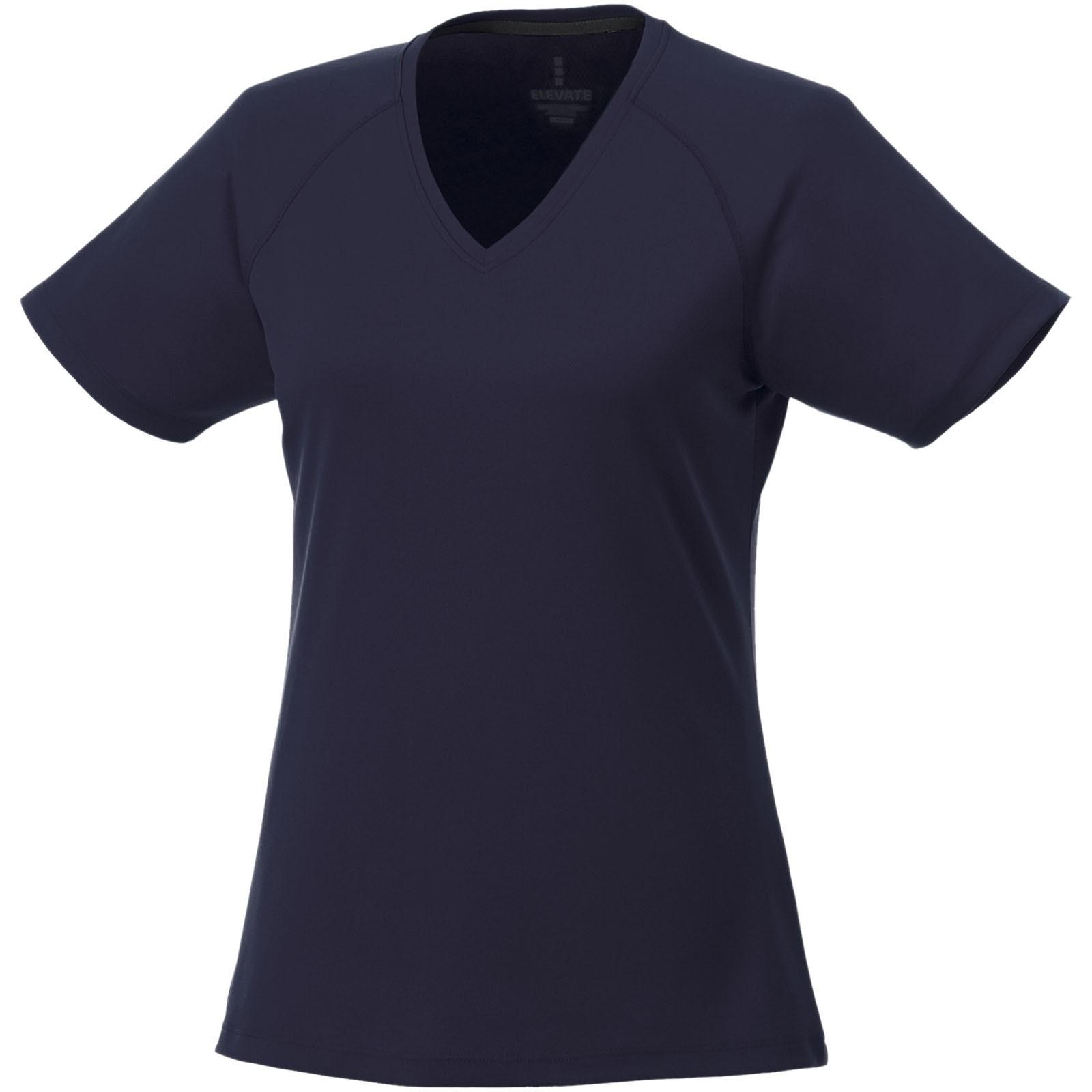 Amery dámské cool fit v-neck tričko s krátkým rukávem - Navy / S