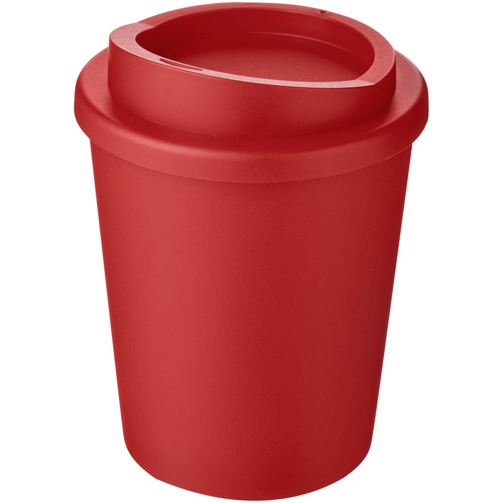 Termo hrnek Americano® Espresso 250 ml - Červená s efektem námrazy