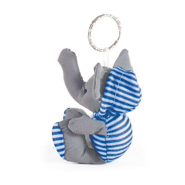 DUENA. Keyring with plush toy - Blue