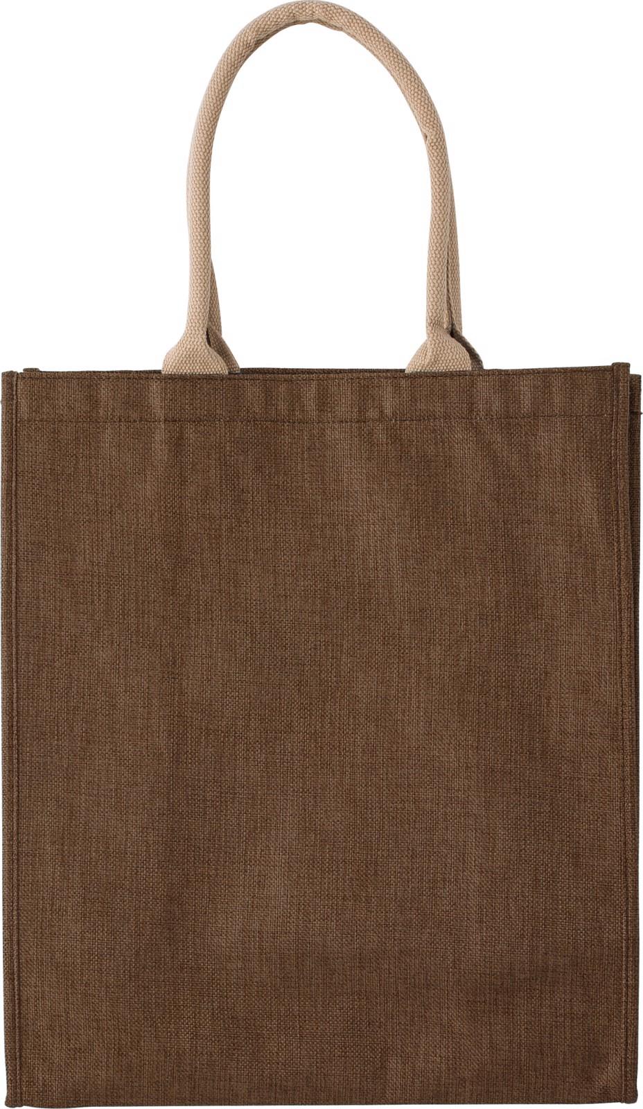 Polyester shopping bag - Brown
