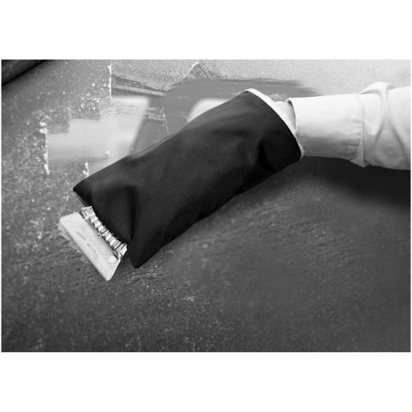 Škrabka na led Colt s rukavicí - Černá