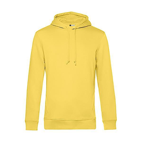 Organic Hooded - Yellow Fizz / L
