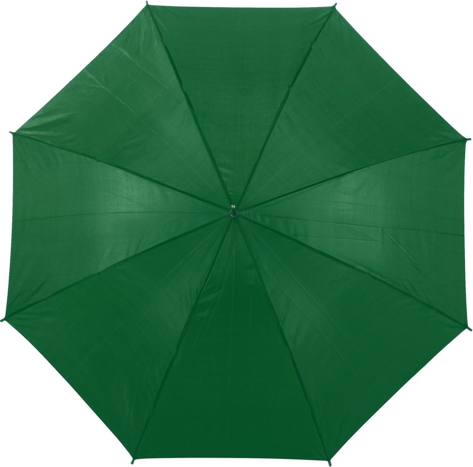 Polyester (190T) umbrella - Green