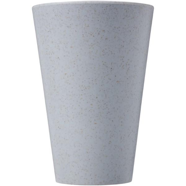 Gila 430 ml wheat straw tumbler - Grey