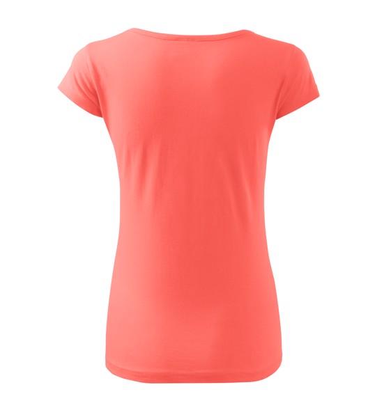 T-shirt women's Malfini Pure - Coral / 2XL
