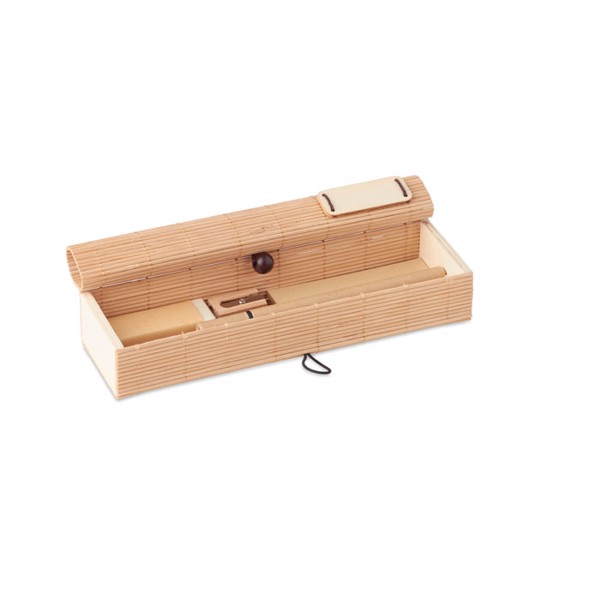 Bamboo stationary set Cortina Etui