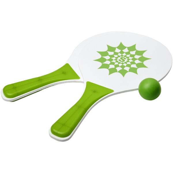 Bounce plážová herní sada - Zelená / Bílá