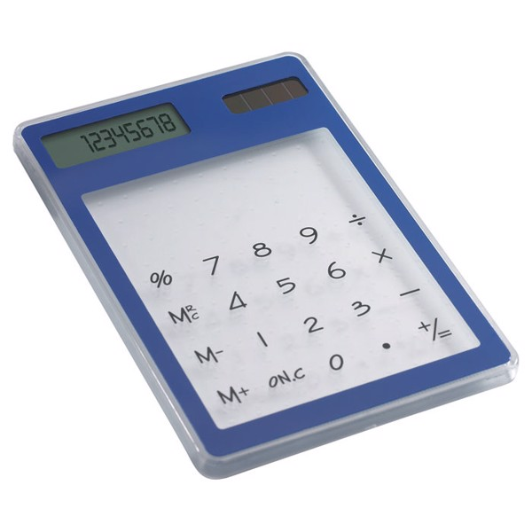 Transparent solar calculator Clearal