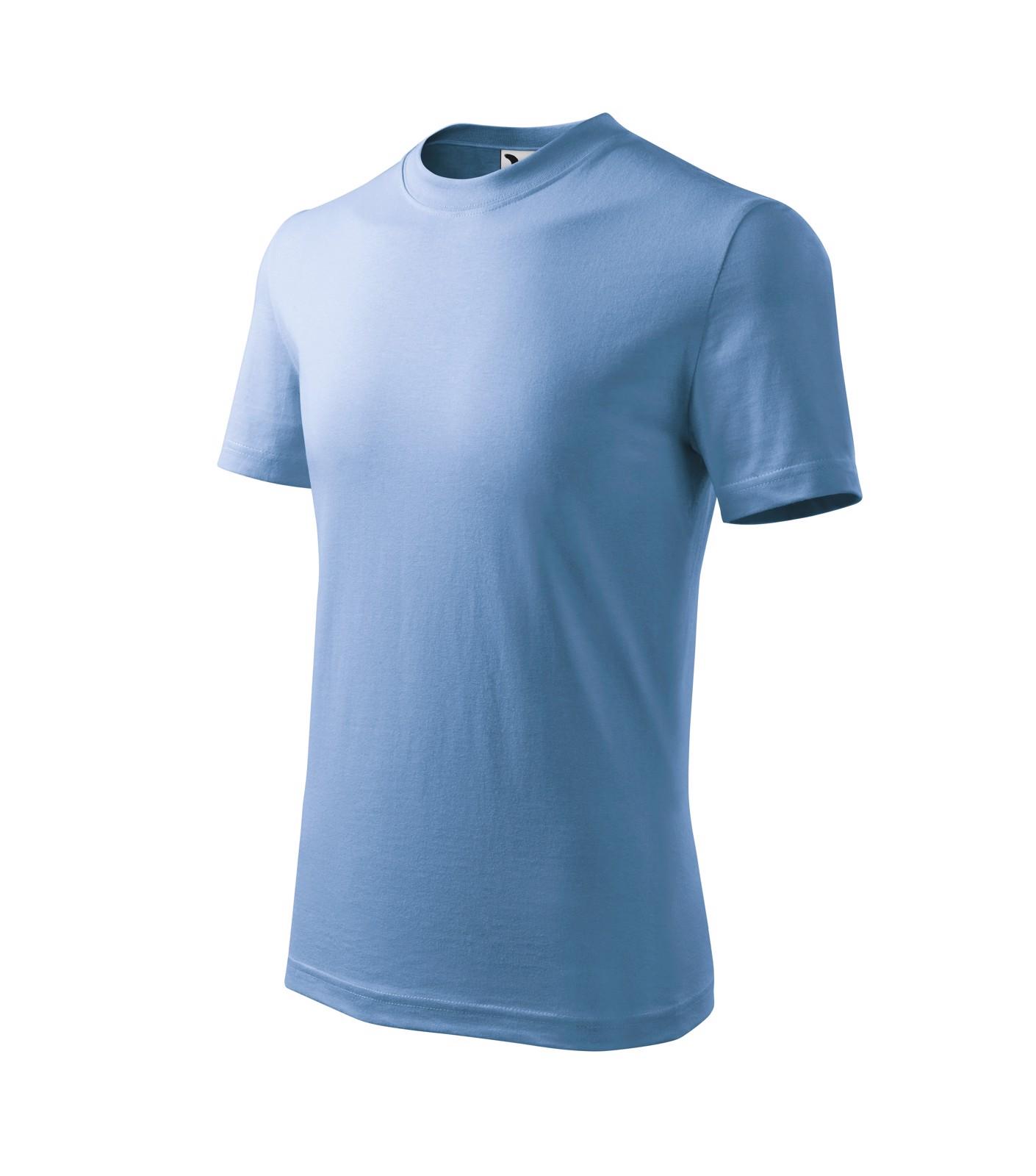 Tričko dětské Malfini Basic - Nebesky Modrá / 110 cm/4 roky