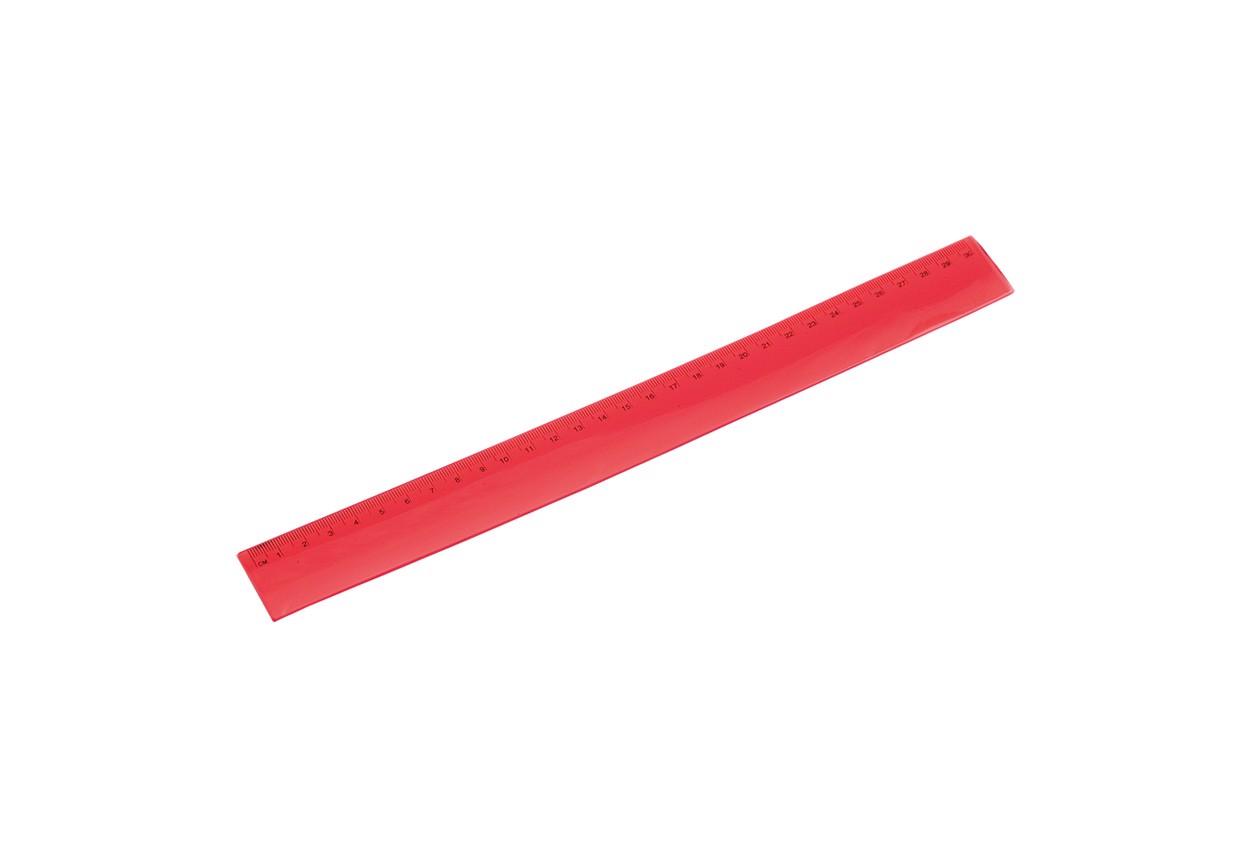 Pravítko Flexor - Červená