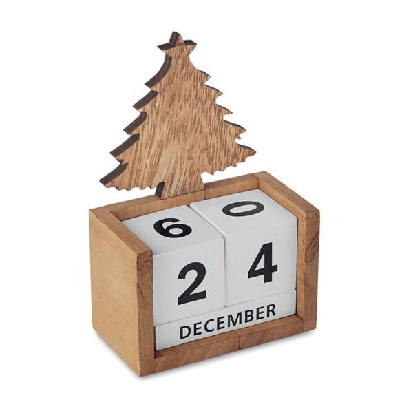 Christmas desktop calendar Aveto