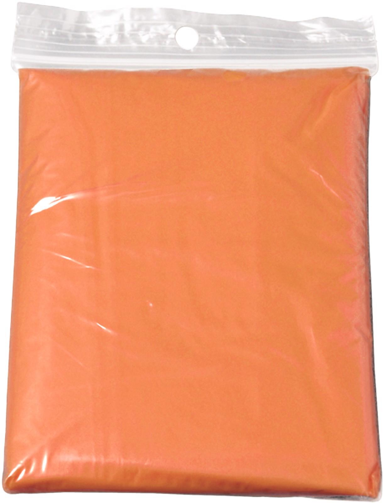 PE poncho - Orange