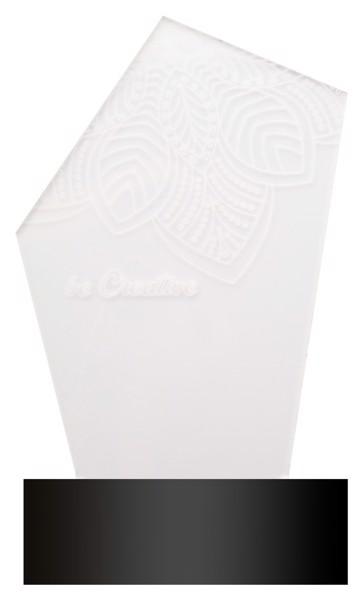 Trofej S Led Světlem Ledify - Průhledná / Černá