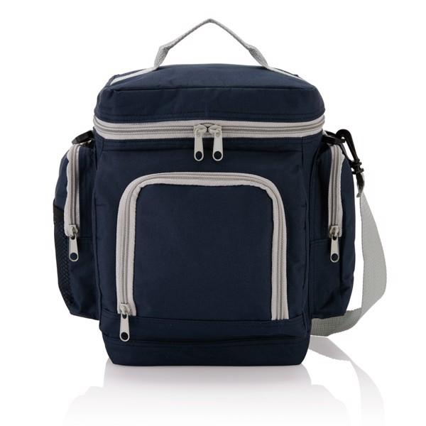Cestovní chladicí taška Deluxe - Modrá