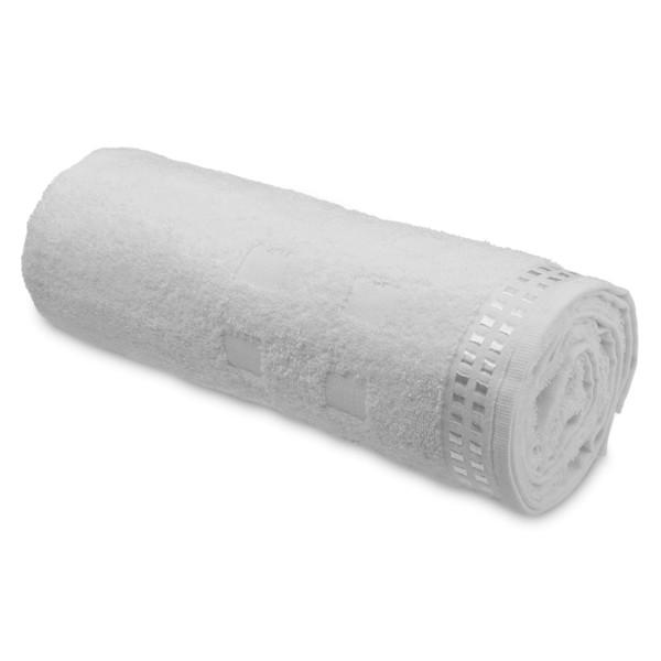 ARIEL II. Cotton terry towel - Λευκό