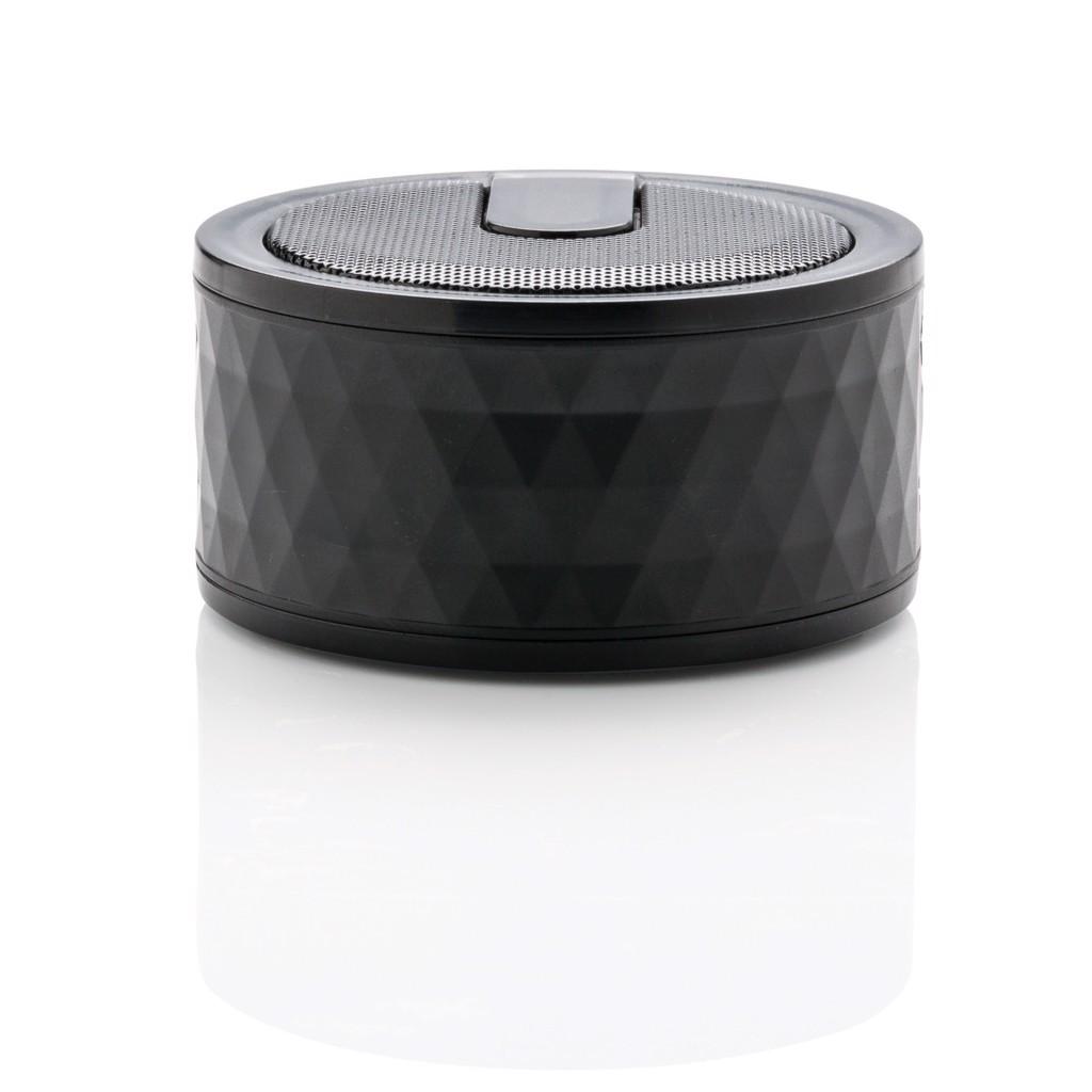 Geometrikus vezeték nélküli hangszóró - Fekete