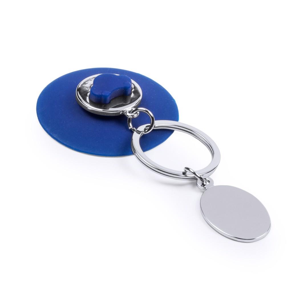 Llavero Moneda Coltax - Azul