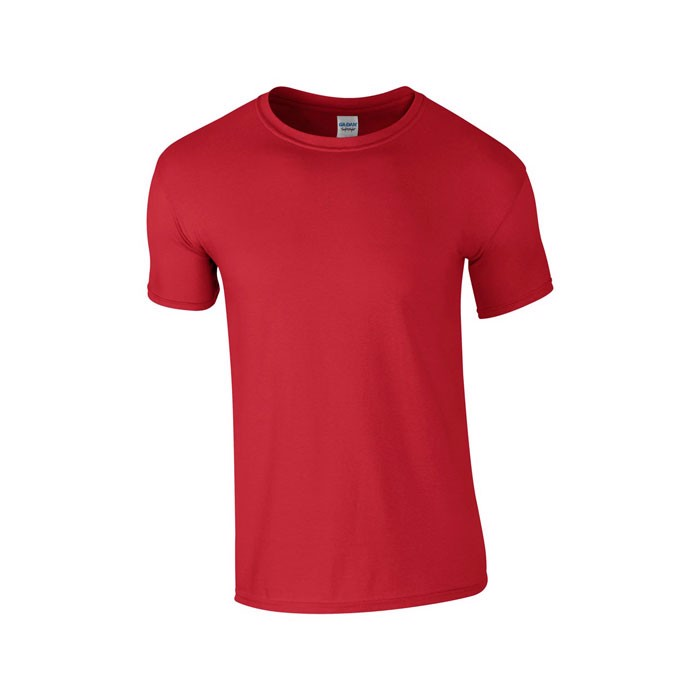 Ring Spun tričko Ring Spun T-Shirt 64000 - Red / 4XL